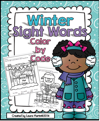 http://www.teacherspayteachers.com/Product/Sight-Words-Winter-Color-by-Code-1589134
