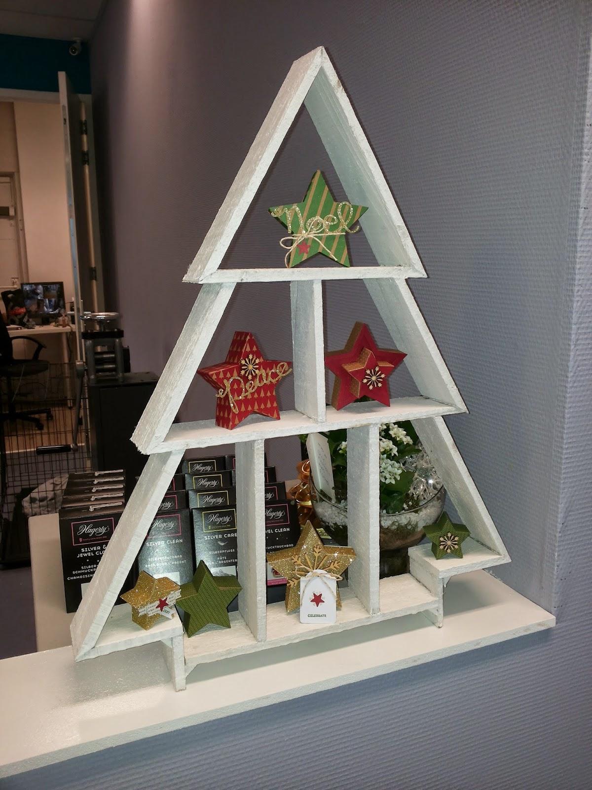 Stamp my dream many merry stars ter decoratie in de winkel van mijn schoondochter kelly - Decoratie terrace ...