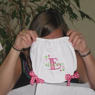 Pink and Green Baby Shower Gifts