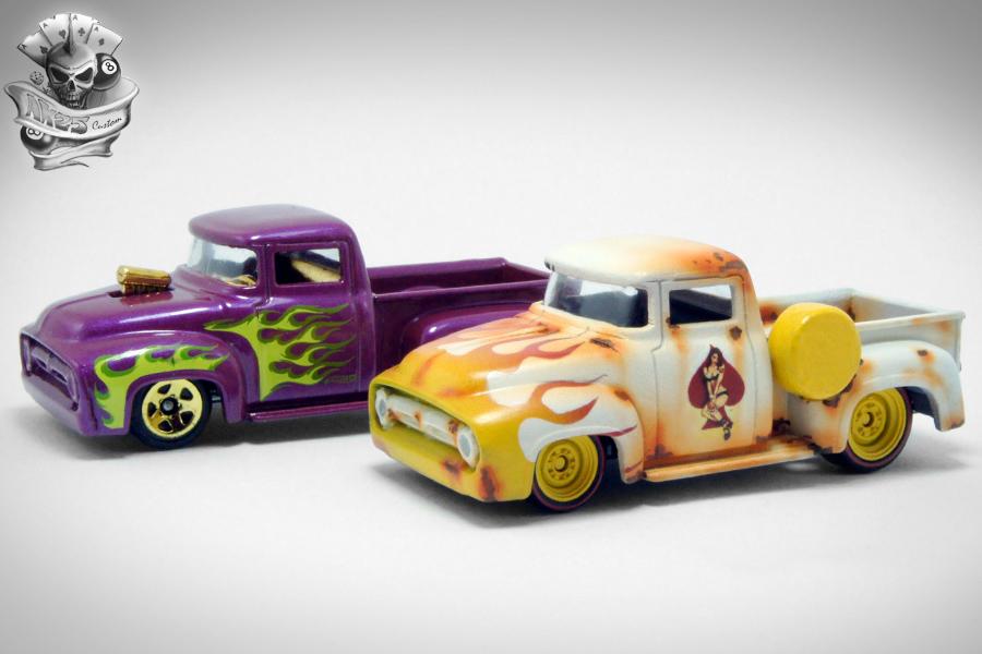 hwcustom custom 39 56 ford pin up truck. Black Bedroom Furniture Sets. Home Design Ideas