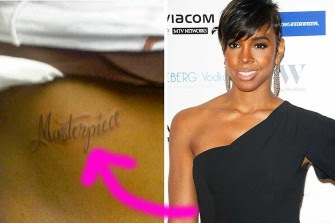 Tatouage Kelly Rowland