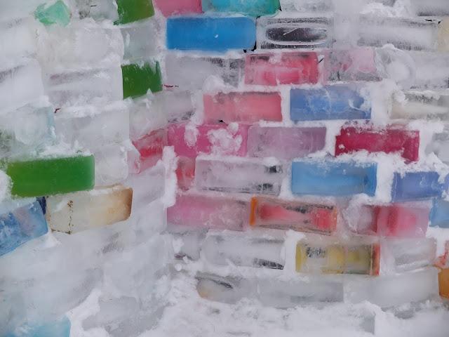 Arabian jäälinna, Arabianjäälinna, isslott, jäälinna