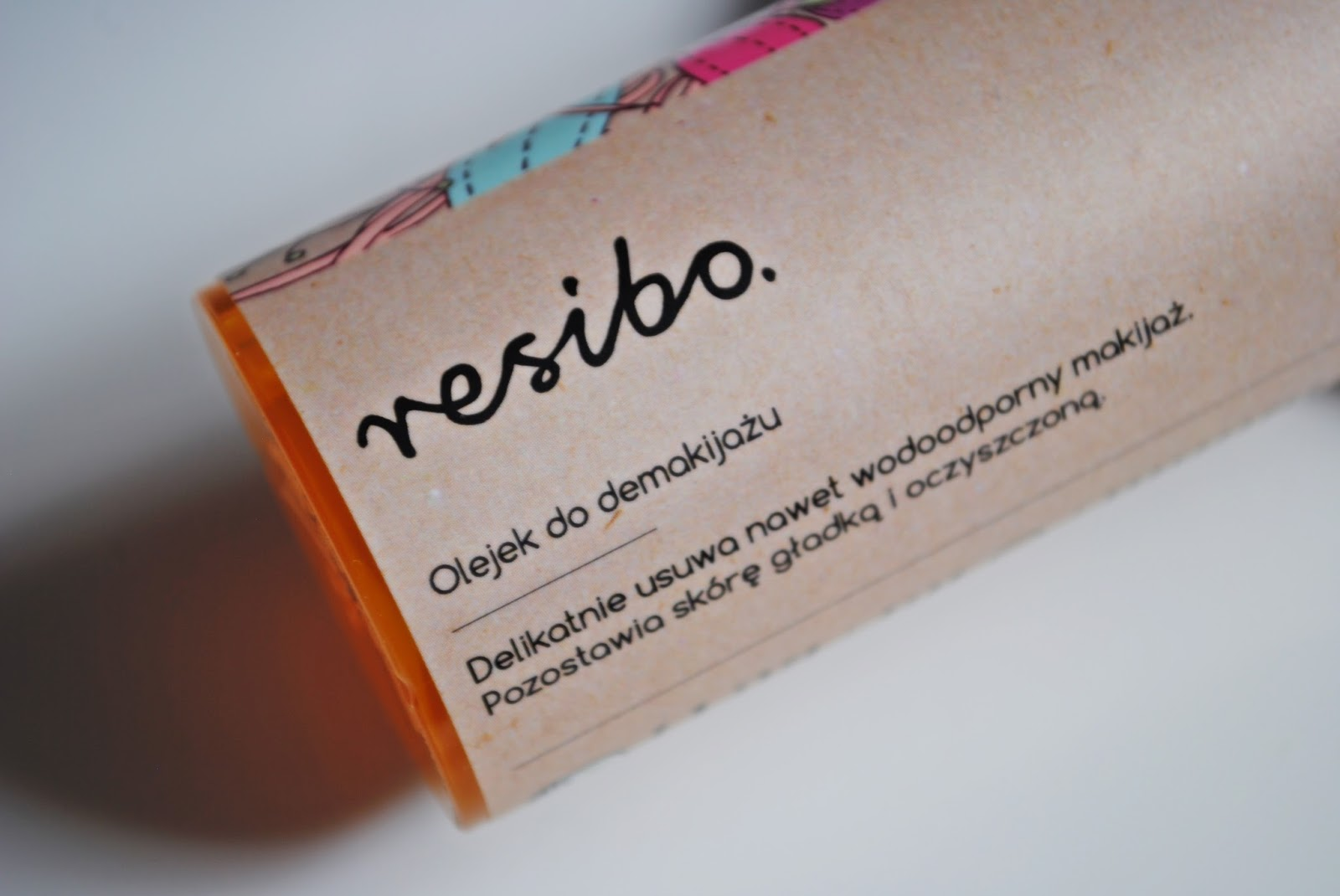 Olejek do demakijażu Resibo beautypediapatt.blogspot.com