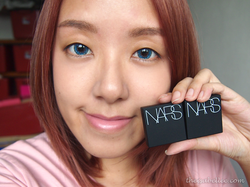Eye makeup tutorial with NARS Dual-Intensity Eyeshadow