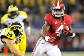 Alabama running back T.J. Yeldon praised by Heisman winner Eddie George.
