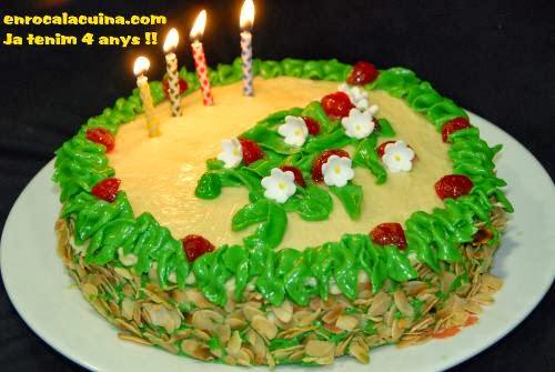 Es el nostre 4.Aniversari de blog, Moltes gràcies a tot@s