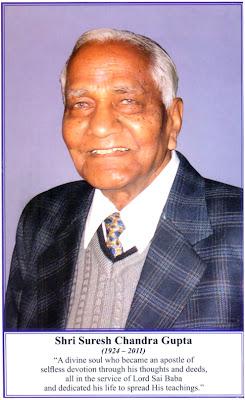 Revered Shri. Suresh Chandra Gupta Merges with Shirdi Sai Baba