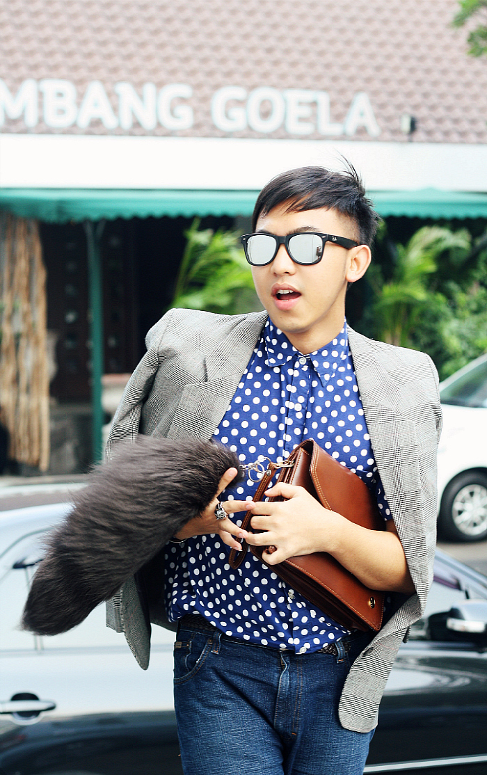 MEN'S FASHION BLOGGER INDONESIA IN BROOKS BROTHER