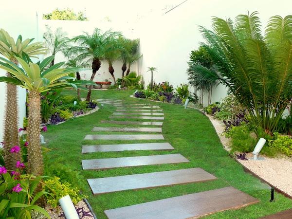 Galer a antes y despues fotos de jardines reales for Jardines medianos