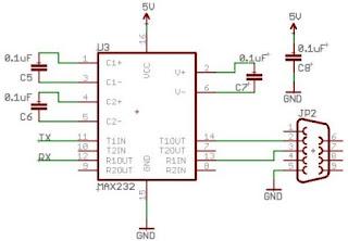 microcontroller_uart_max232_circuit