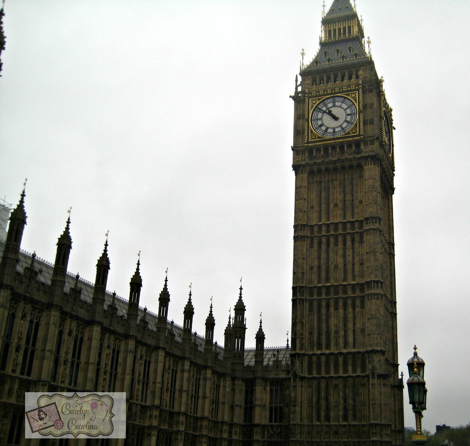 Carolyn In Carolina Big Ben Parliament And Westminster