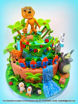 Jungle Animal Cake Toppers Singapore