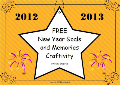 New Year lesson freebie