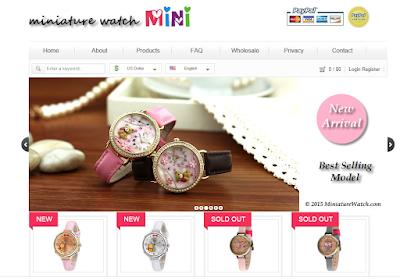 Miniature watch Mini