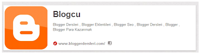 Pinterest Blogspot Site Ekleme