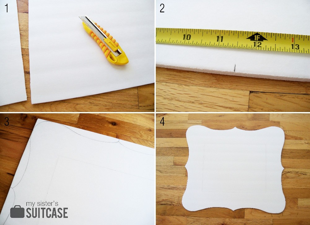 100% Paper Mantel Challenge {How to Stencil a Wall with Paper} - My ...