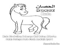 Mewarnai Kuda Dalam Surah Annahl