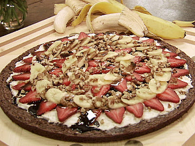 Brownie Banana Split Dessert