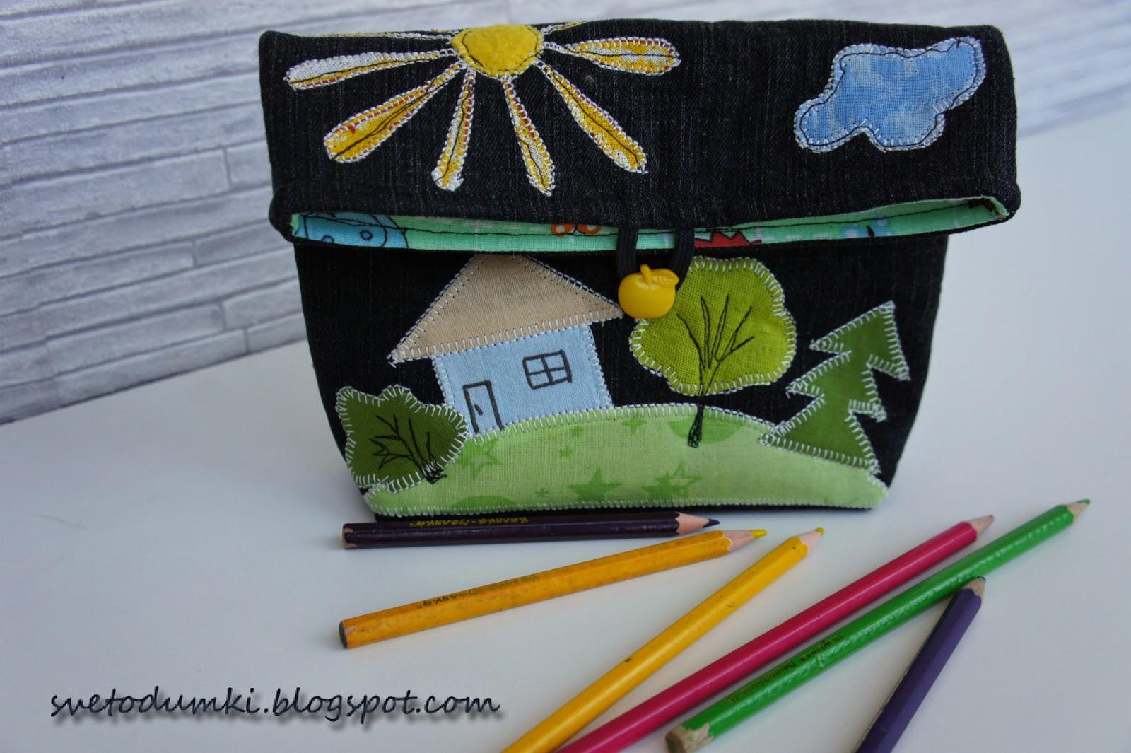 сумочка для карандашей