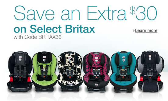 Get An EXTRA $30 Off Britax Car Seats at Amazon! PLUS FREE S&H!!