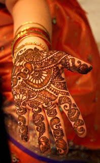 Pakistani Mehndi for foot