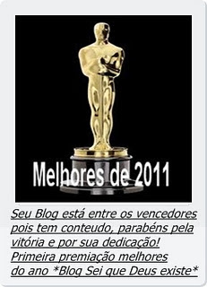 Troféu do Blog Sei que Deus Existe