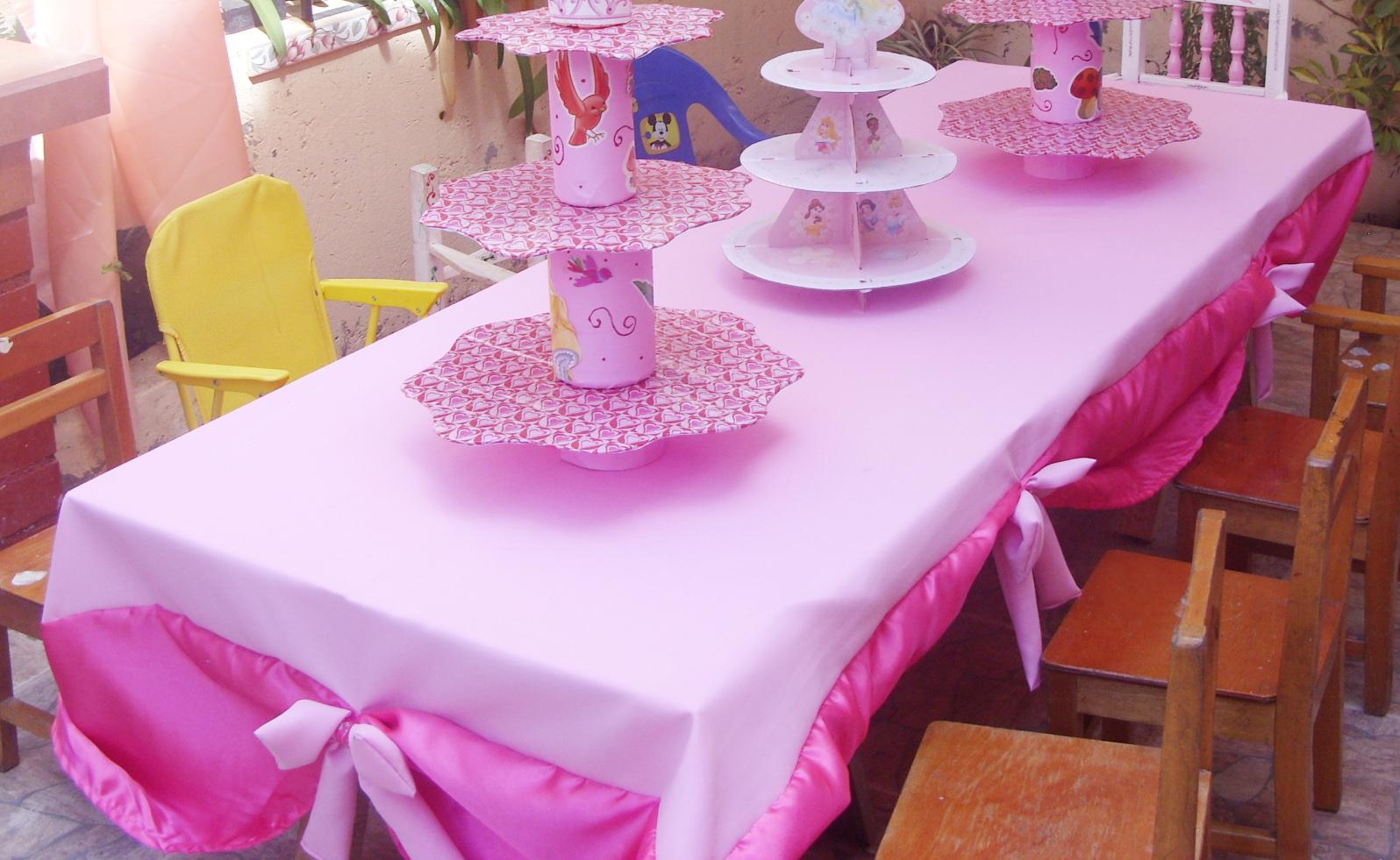 las creaciones de doa castora cumpleaos princesa detalles decorativos