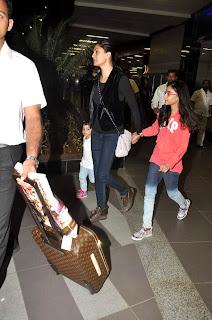 Sushmita, Kangna and Hrithik snapped at airport