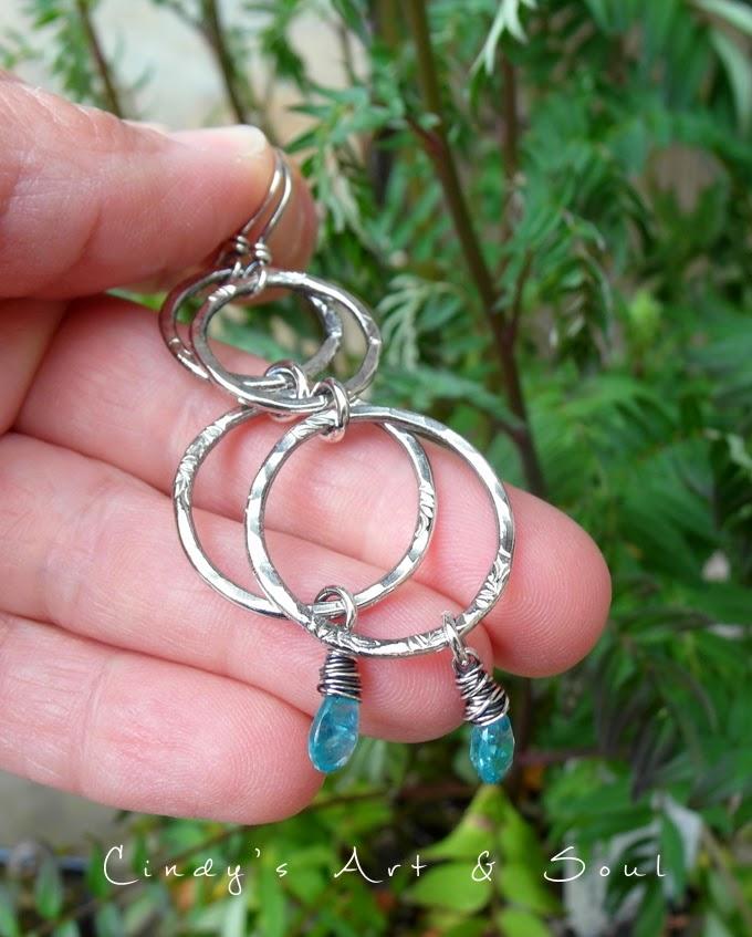 https://www.etsy.com/listing/190960246/blue-gemstone-hoops-hoop-earrings-pure