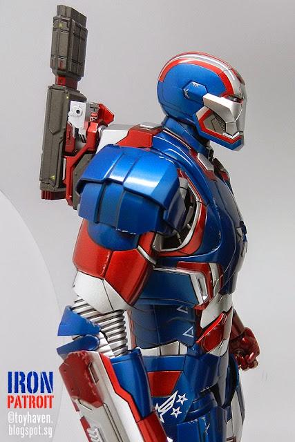 war machine and iron patriot