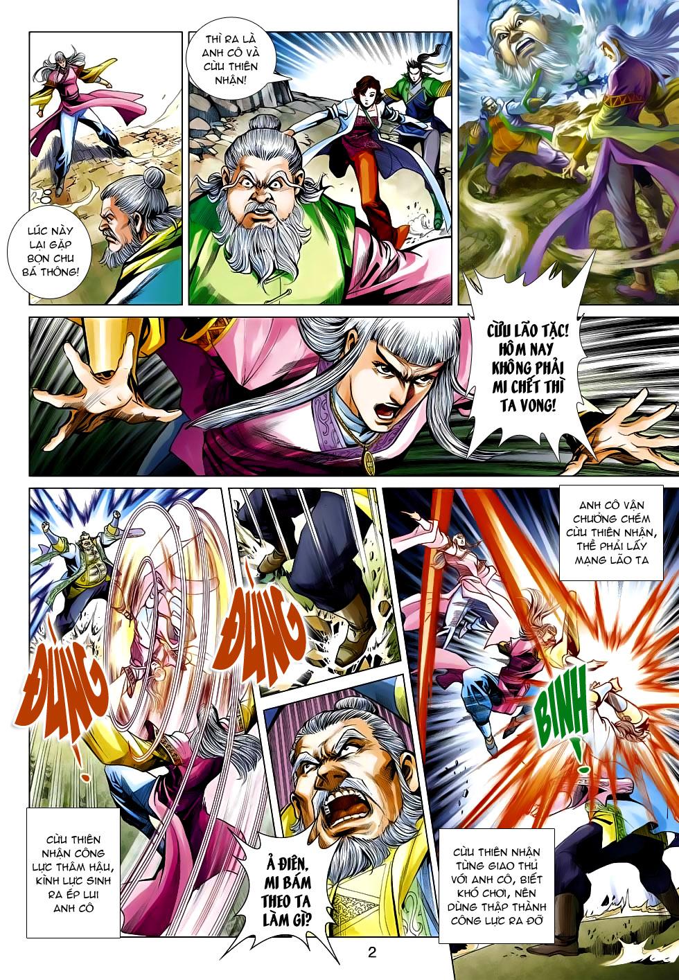 Anh Hùng Xạ Điêu chap 99 - Trang 2