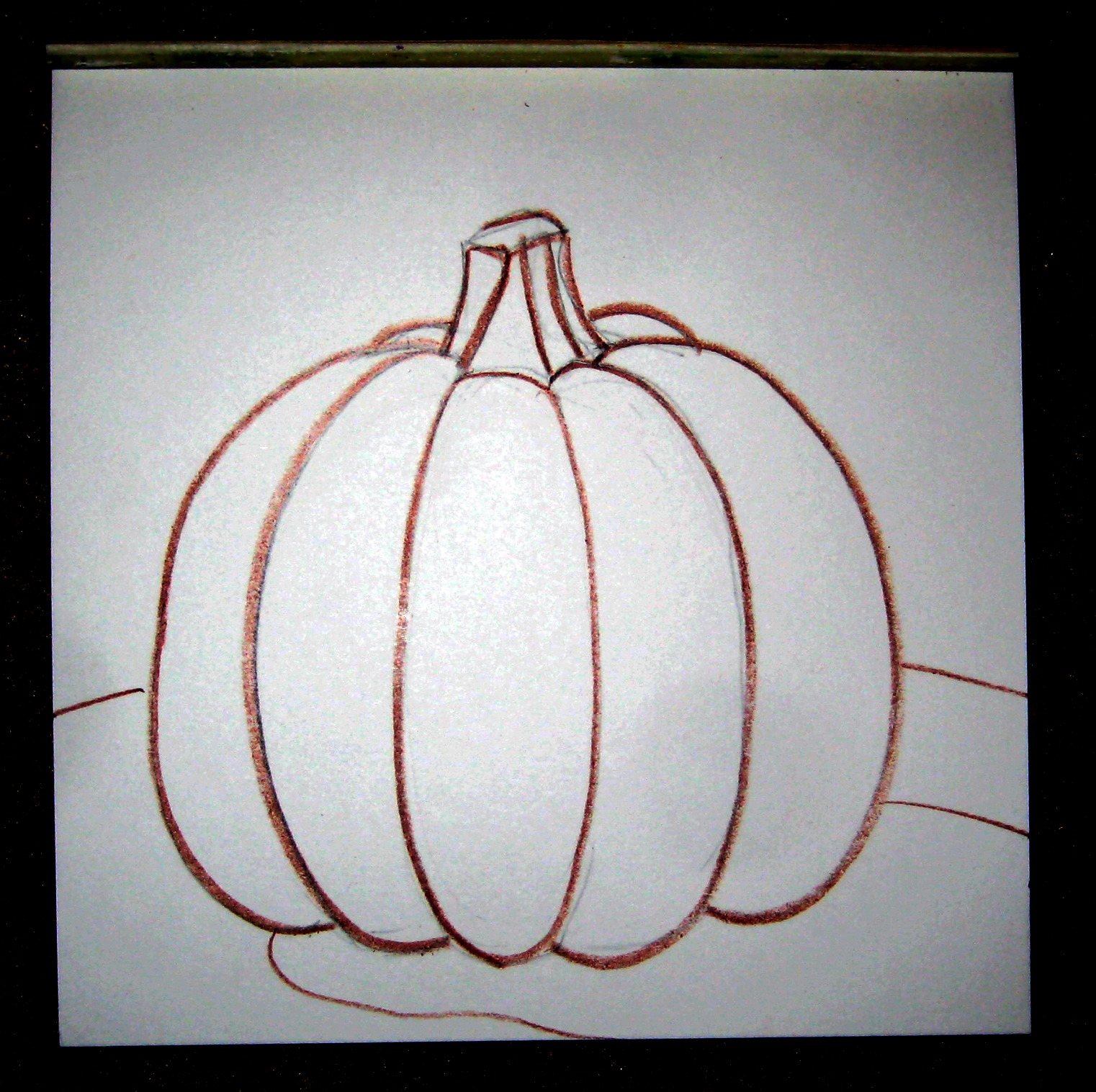 Mrs. Art Teacher!: the value of value part 2 : Pumpkins!