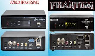 Atualizacao Phantom Bios HD para Bravissimo Twin