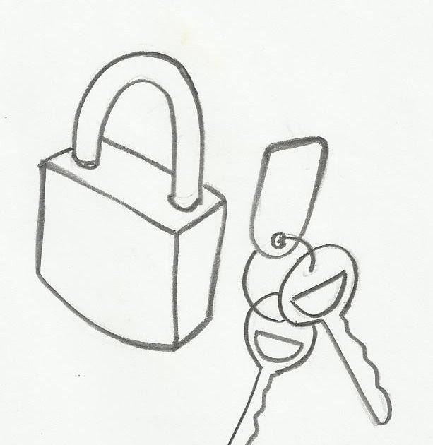 desenho de chave e cadeado para colorir   gifs e desenhos