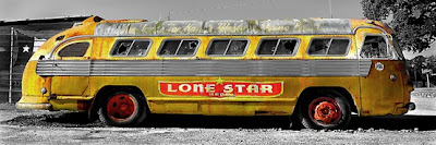 Autobús Lone Star by Bruce Reinfeld