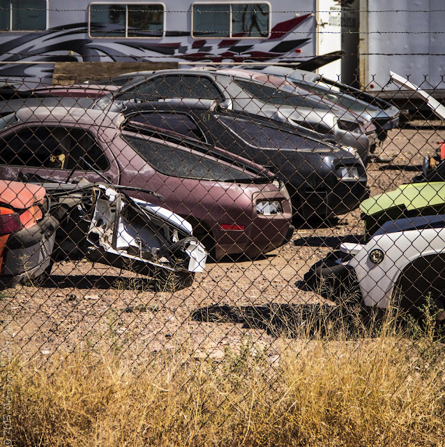 Porsche graveyard