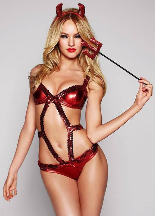 Victoria's Secret Sexy Halloween with Candice Swanepoel