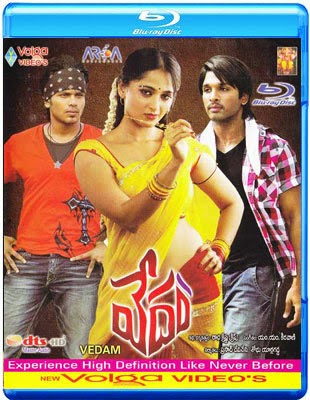 Vedam 2010 BluRay 480p Dual Audio [Telugu Hindi] 400mb