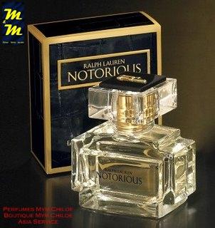 Perfume NOTORIOUS de Ralph Lauren