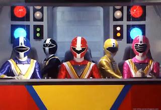 Chikyuu Sentai Fiveman : Persaudaraan Adalah Kekuatan
