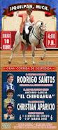 Anuncian a Santos, El Chihuahua y Aparicio, en Jiquilpan, el 18/12.
