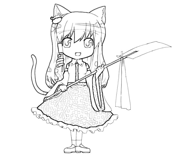 printable-sanae-kochiya-weapon-coloring-pages
