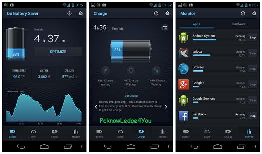 DU Battery Saver-Ứng Dụng Tiết Kiệm Pin Cho Android