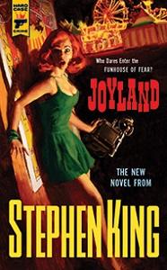 Portada original de Joyland, de Stephen King