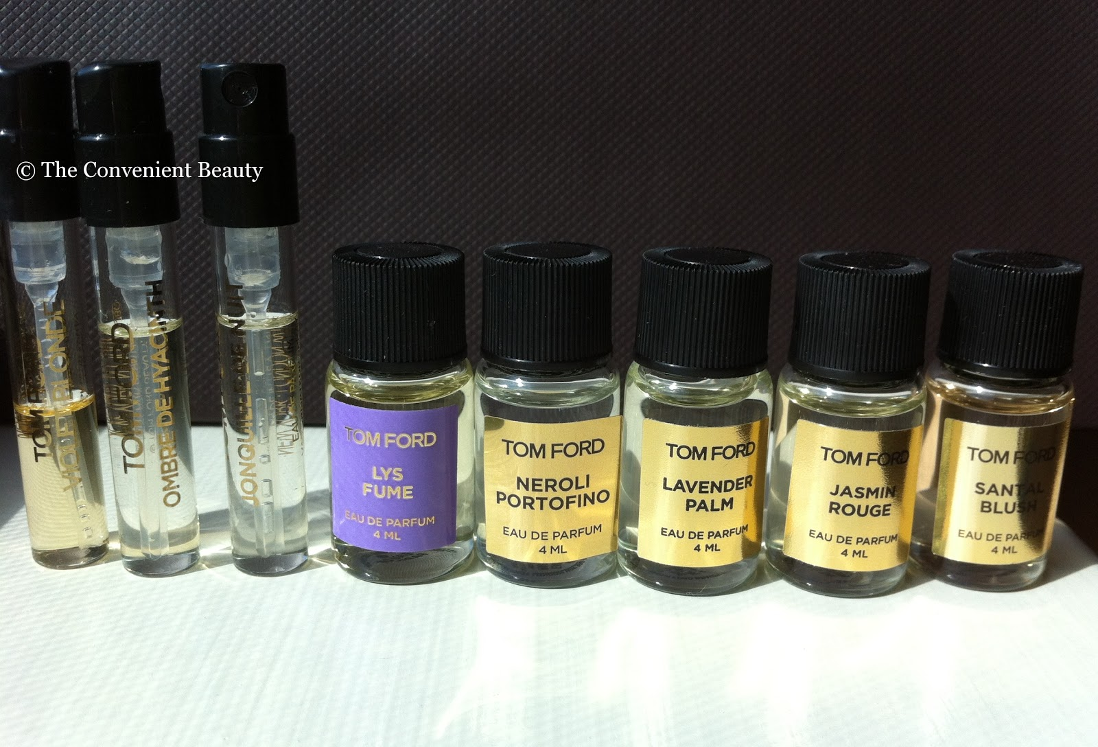 The Convenient Beauty: Tom Ford Beauty Haul - First Impression