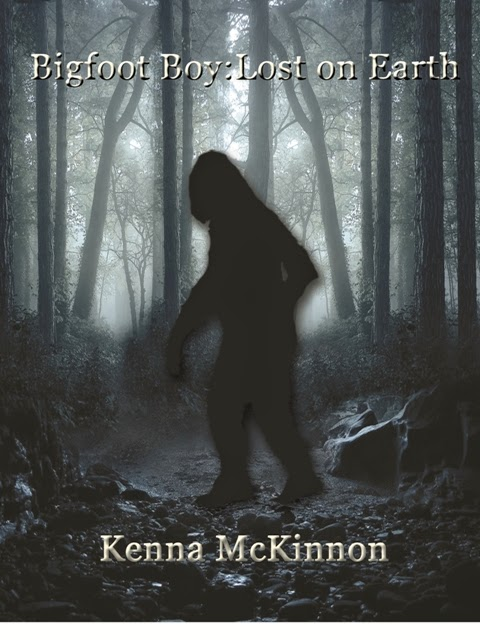 http://www.amazon.com/Bigfoot-Boy-Earth-Kenna-McKinnon-ebook/dp/B00GRIAF0Y/ref=sr_1_1?s=digital-text&ie=UTF8&qid=1400629676&sr=1-1&keywords=bigfoot+boy+lost+on+earth