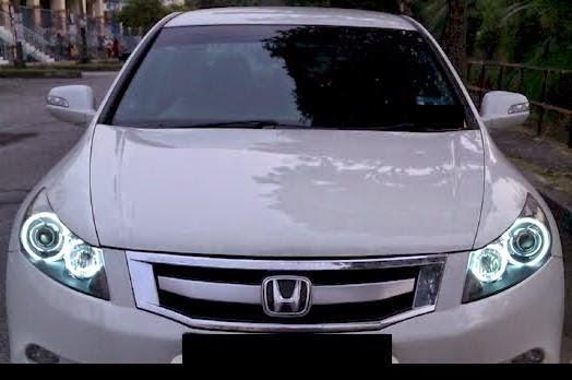 Juragan Lampu Projie Hid Aes Led Angel Eyes Honda Accrod 2008