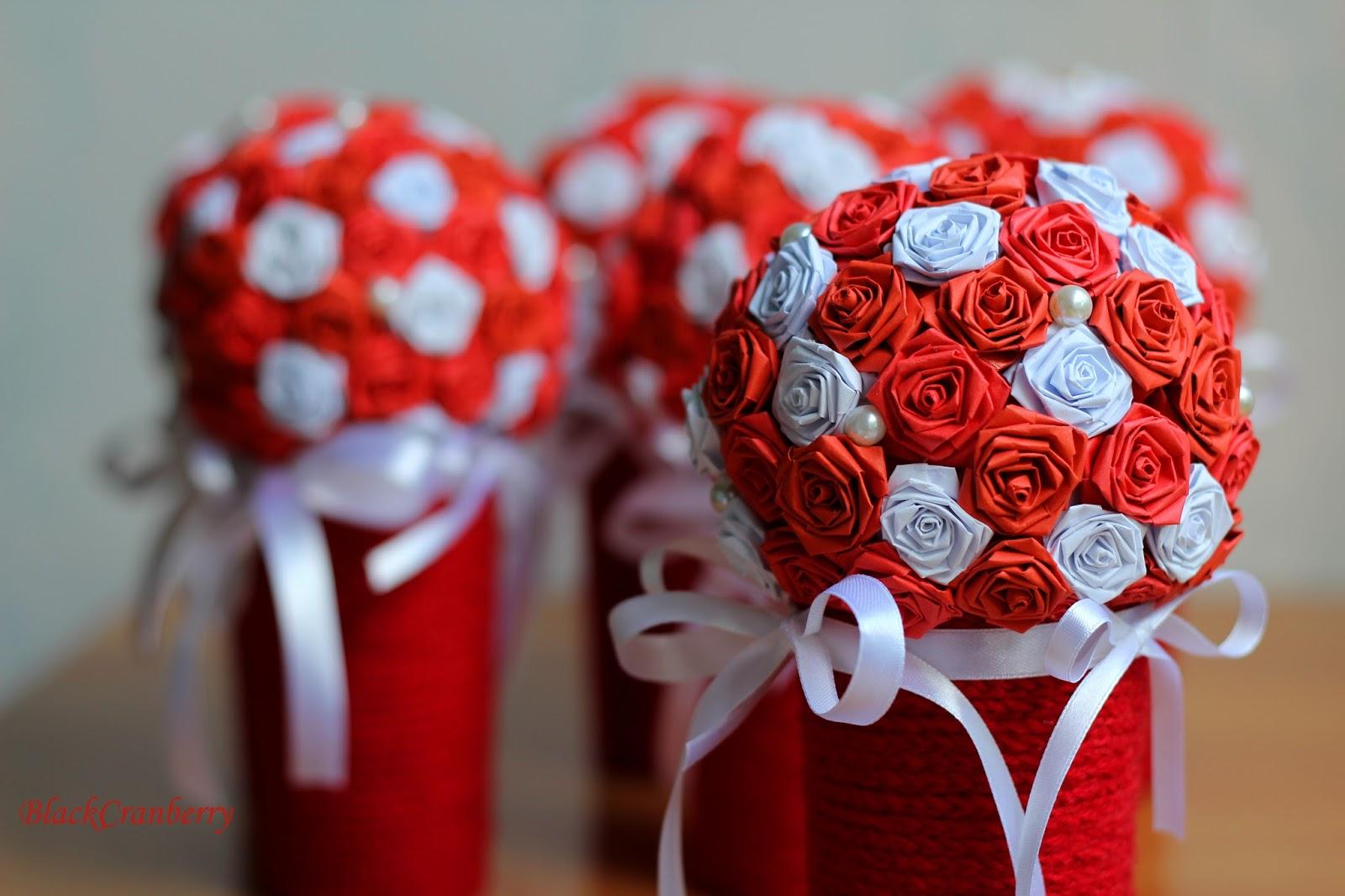 Поделки для украшения на свадьбу