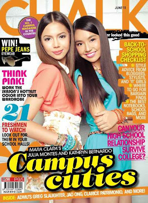 Chalk June 2011 Kathryn Bernardo Julia Montes