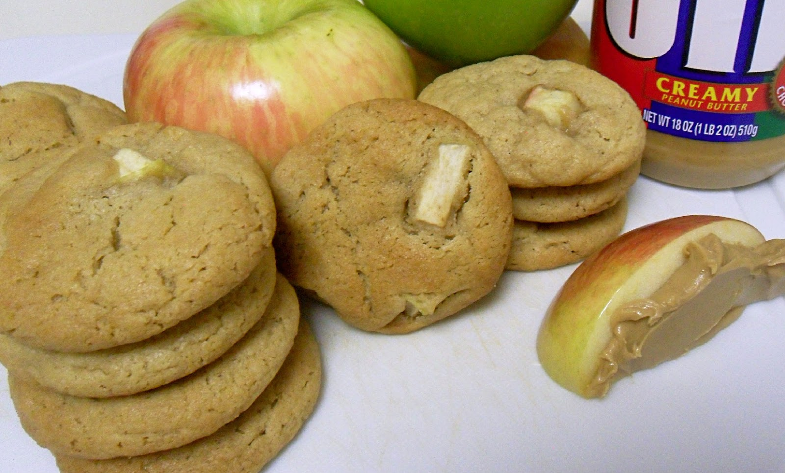 Cooking to Perfection: Chewy Peanut Butter Apple Cookies
